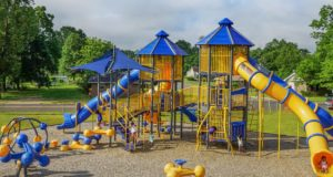 A Simple Do-It-Yourself Kid's Playground